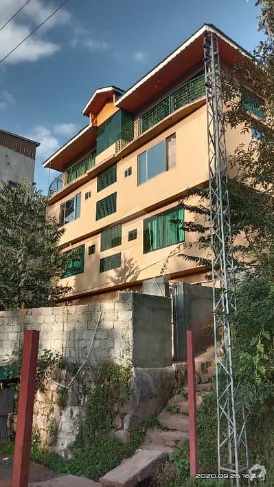 Flat Of 729  Square Feet In Bhurban For Sale