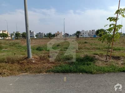 Good Location Corner Plot of 65 Marla Is For Sale In Block D DHA 9 Town Lahore