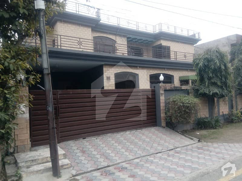 1 Kanal Double Storey 90 Ft Front 8 Beds 9 Baths Kitchen Drawing Dinning