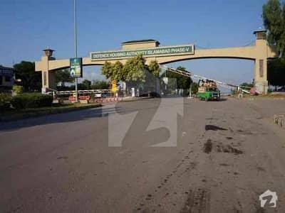 ڈی ایچ اے فیز 4 - سیکٹر ڈی ڈی ایچ اے ڈیفینس فیز 4 ڈی ایچ اے ڈیفینس اسلام آباد میں 1 کنال پلاٹ فائل 60 لاکھ میں برائے فروخت۔