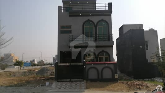 3 Marla Double Storey House Facing Park For Sale In Al Kabir Town Phase 2 Block B