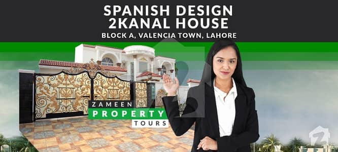2 Kanal Spanish House For Sale In Valencia  Block A
