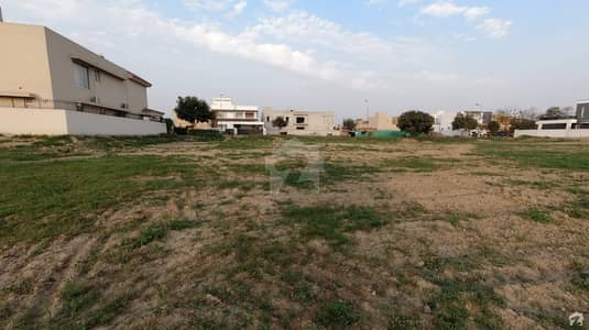 1 Kanal Facing Park Plot For Sale In DHA Phase 6
