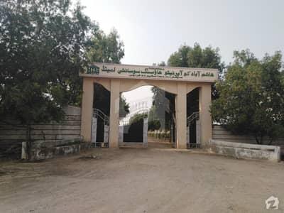 ہاشم آباد کوآپریٹو ہاؤسنگ سوسائٹی سکیم 33 کراچی میں 5 مرلہ رہائشی پلاٹ 75 لاکھ میں برائے فروخت۔