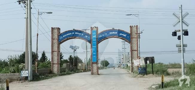 1 Kanal Corner Residential Plot For Sale In Gulshan E Sehat Block B Islamabad