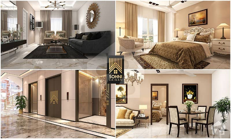 1007  Square Feet Flat Available In Gadap Town For Sale