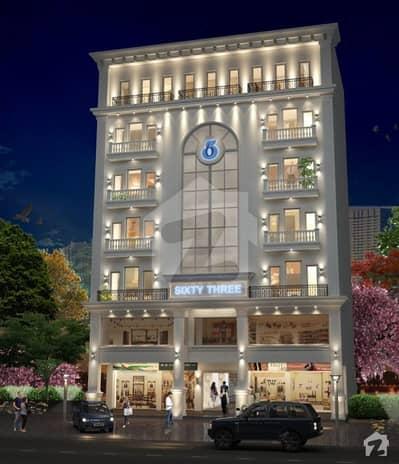 ڈریم گارڈنز ڈیفینس روڈ لاہور میں 1 کمرے کا 2 مرلہ فلیٹ 47.8 لاکھ میں برائے فروخت۔