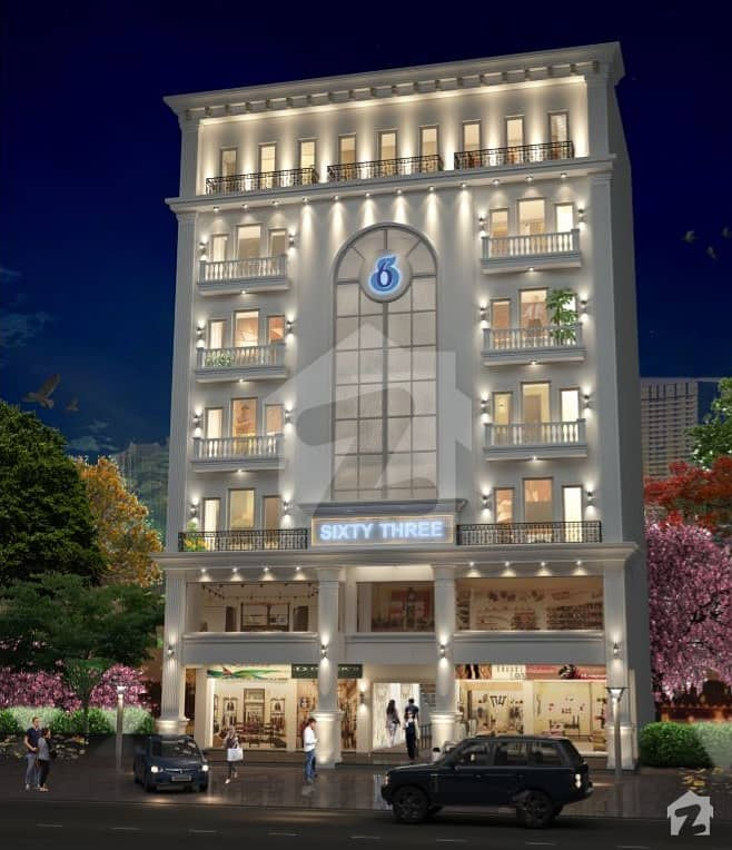 1 Bed Apartment For Sale On Easy Installments In Dream Gardens Defence Road Lahore