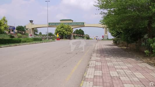 Dha phase 5 sector F 1 kanal level plot for sale