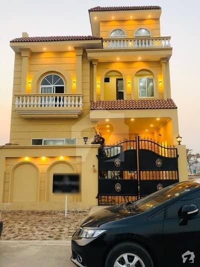 5 Marla Brand New Spanish House At Hot Location Near Park And Masjid Ideal Location House