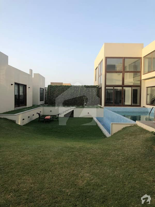 Recently Constructed 8 Bedrooms 2000 Square Yards Architect Designed Elegant Bungalow With Swimming Pool On Prime Location Of 37th Street Of Khayaban E Iqbal Dha Phase 8 Is Available For Sale In Most Reasonable Demand