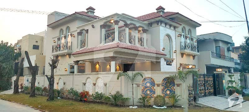 13.5 Marla Brand New Corner Spanish House On Main Road Near To Park For Sale In Dha Lahore Phase 8 Air Avenue