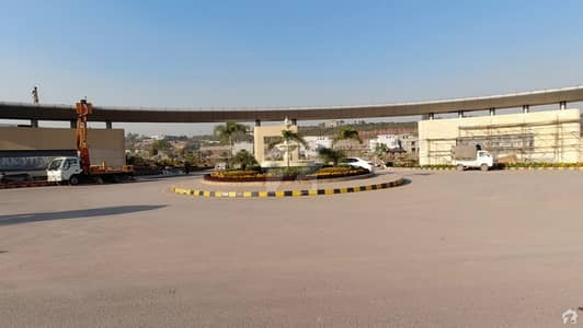 10 Marla Residential Plot File Available For Sale In J Block Park View City Islamabad