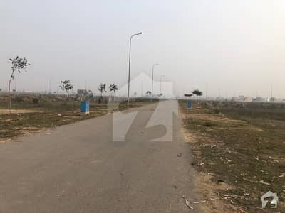 7 Marla 80 Sq Ft Corner Plot At 40ft Wide Road At Ideal Location
