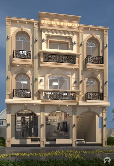 ڈریم گارڈنز فیز 1 ڈریم گارڈنز ڈیفینس روڈ لاہور میں 1 کمرے کا 2 مرلہ فلیٹ 37.5 لاکھ میں برائے فروخت۔