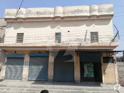 House For Sell With 4 Shops