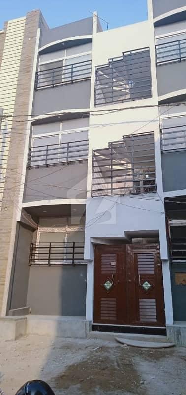 کورنگی - سیکٹر 31-جی کورنگی کراچی میں 2 کمروں کا 2 مرلہ فلیٹ 22 لاکھ میں برائے فروخت۔