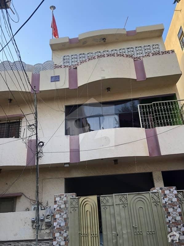 بھٹائی کالونی کورنگی کراچی میں 6 کمروں کا 10 مرلہ مکان 3 کروڑ میں برائے فروخت۔