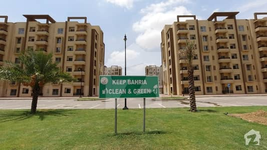 Ideally Located Flat For Sale In Bahria Town Karachi Available
