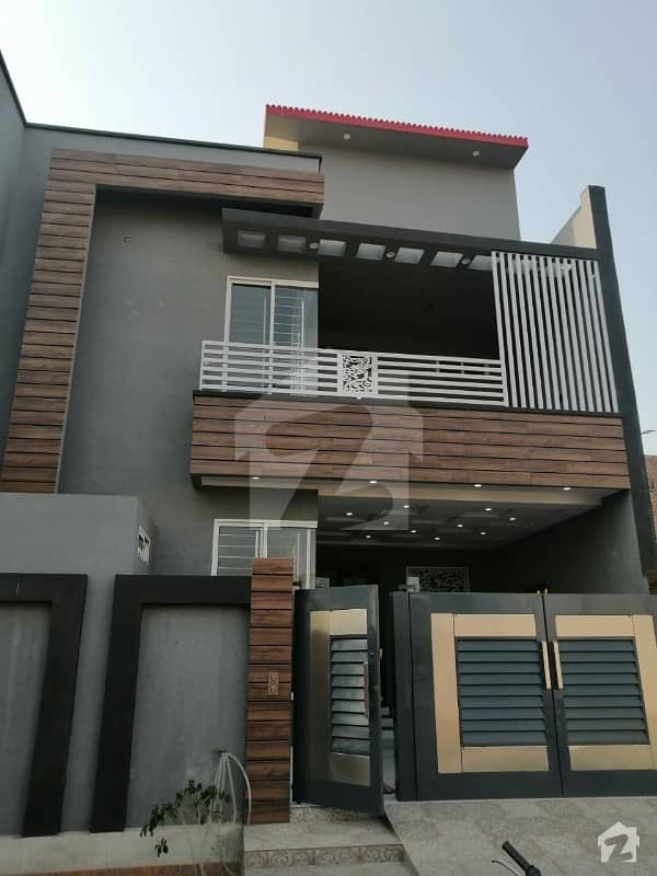 5 Marla Brand New House For Sale In Model City 1