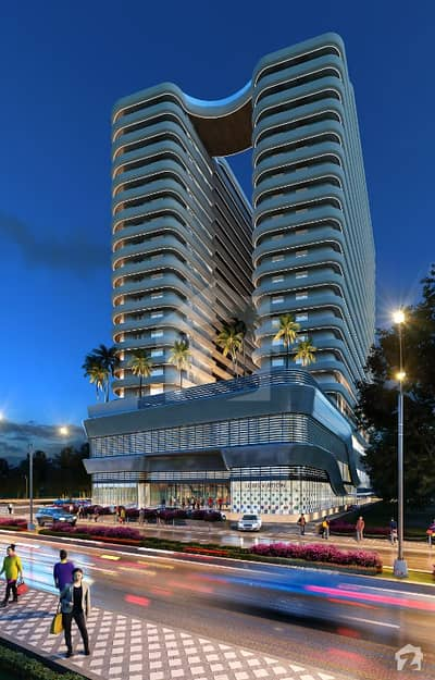 Flat Is Available For Sale In Safa Golden Oaks
