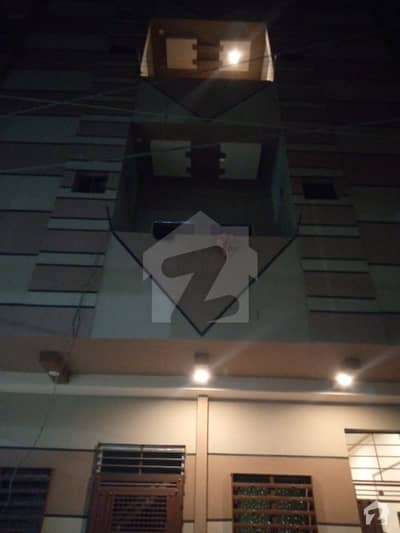 New Brand 2 Bed Lounge Portion For Sale 3rd Floor Located At Azizabad