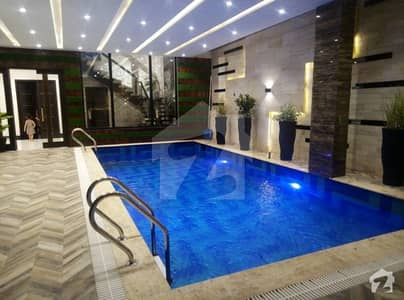 24 Marla Brand New Design Full Basement Pool Swimming Sui Gas Society Phase 1