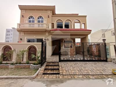 10 Marla Brand New Spanish Design Double Unit Bungalow For Sale In State Life Society