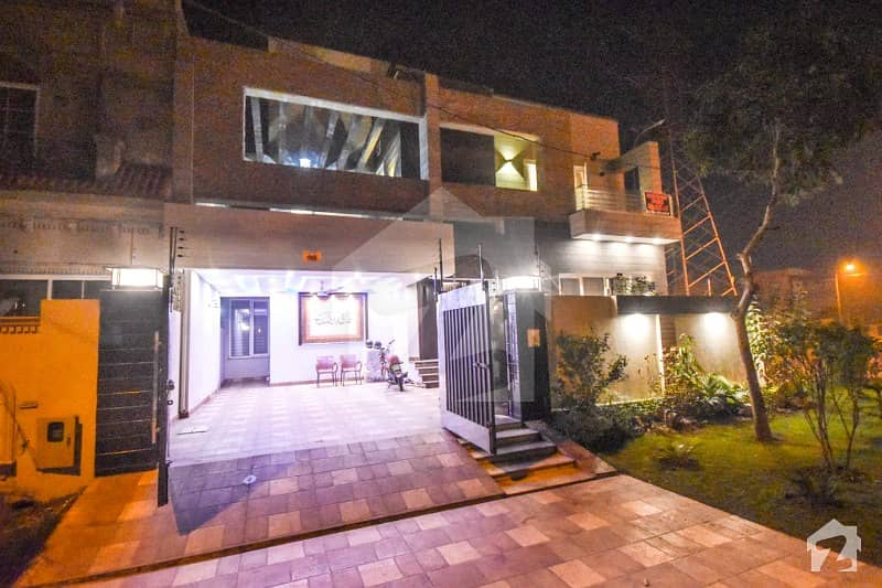 13 Marla Like A New Full Basement Fully Furnished  House In Dha Phase 8 N Block