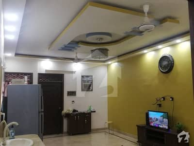 3rd Floor Portion Without Roof 3 Bed Drawing Dining For Sale In Azizabad Block 8