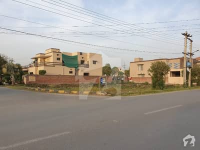 A Block 1 Kanal 60 Feet Road Corner Plot For Sale