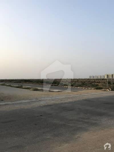 500 Yards Plot For Sale Phase 8 Beach Street # 11 Construction Zone C Corner Gola