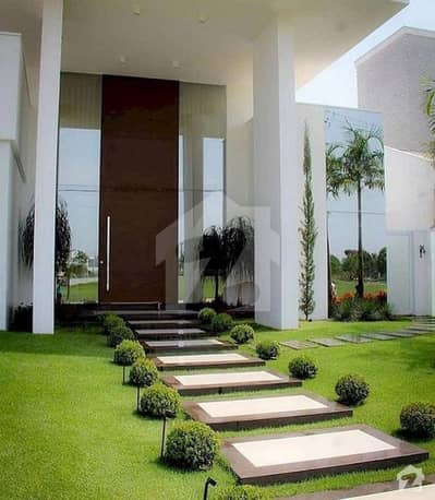 2 Kanal Brand New Corner Luxury House For Sale In Canal Road Society Faisalabad