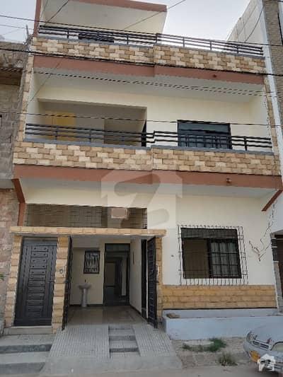 سعدی ٹاؤن سکیم 33 کراچی میں 4 کمروں کا 5 مرلہ مکان 1.6 کروڑ میں برائے فروخت۔