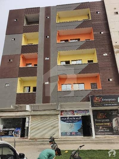گلشنِ معمار - سیکٹر آر گلشنِ معمار گداپ ٹاؤن کراچی میں 2 کمروں کا 4 مرلہ فلیٹ 50 لاکھ میں برائے فروخت۔