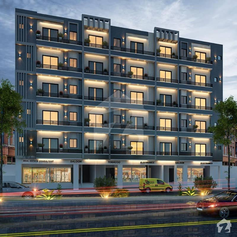 Studio Apartment For Sale On 1 Year Easy Installment Plan In Bahria Town Lahore
