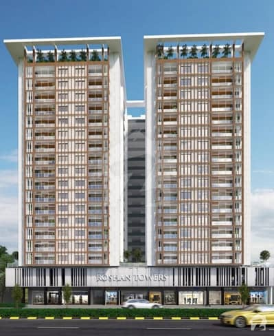 Roshan Tower Flat With 4 Bed DD On Main Tipu Sultan Road