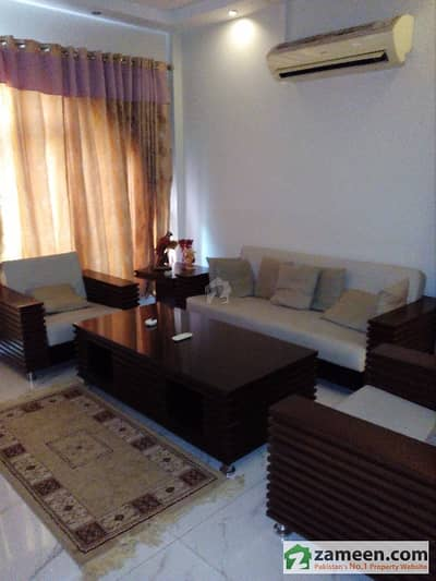 1 Bed Room Fully Furnished Apartment Available In Bahria Town
