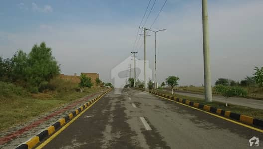 10 Marla Plot Available Prime Location Street 4 Block E University Town