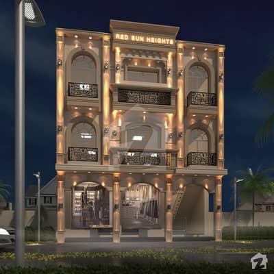 ڈریم گارڈنز ڈیفینس روڈ لاہور میں 1 مرلہ Studio فلیٹ 50 لاکھ میں برائے فروخت۔