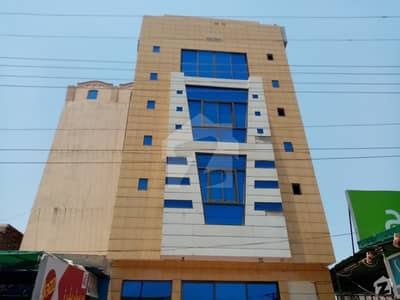 ریلوے روڈ ساہیوال میں 5 مرلہ عمارت 6 کروڑ میں برائے فروخت۔