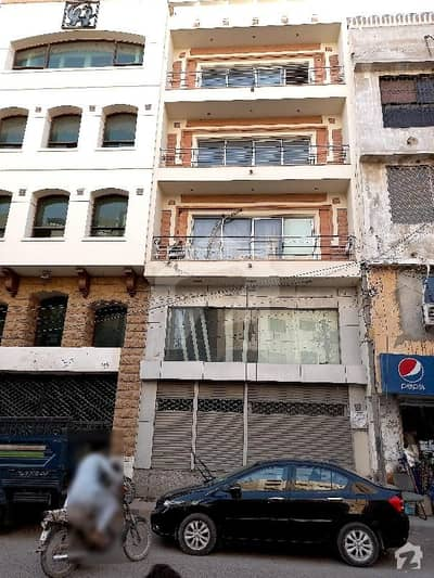 Commercial Building 100 Yard For Sale With Basement & Lift Ground 4 Chance Deal  Good  Location In Zamzama Commercial