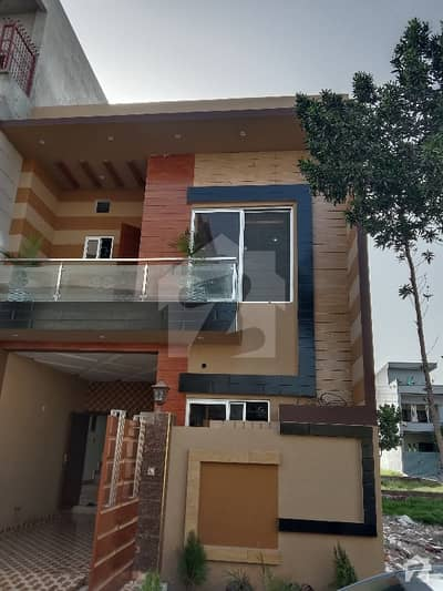5 Marla Brand New Double Storey House For Sale In Punjab University Society Phase 2