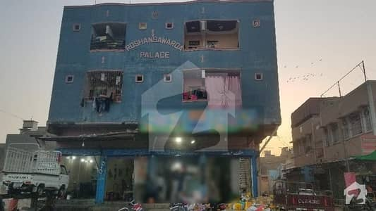 Buy A Centrally Located 120  Square Yards Flat In Korangi