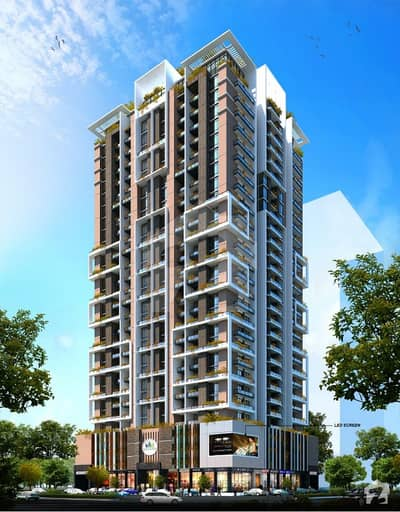 Entrace of Bahria Town Pricent1 2bed luxuries Appartments Booking open on installments