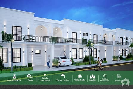 625 Sq Ft  Double Storey House For Sale On Installments
