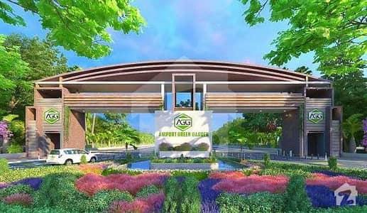 ایئرپورٹ گرین گارڈن کشمیر ہائی وے اسلام آباد میں 5 مرلہ پلاٹ فائل 21.6 لاکھ میں برائے فروخت۔