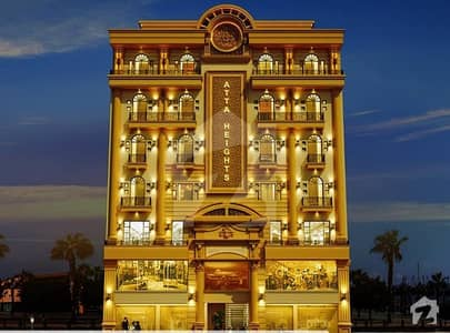 1 Bed Flat For Sale In Dream Gardens Lahore Book In 12 Lacs Only