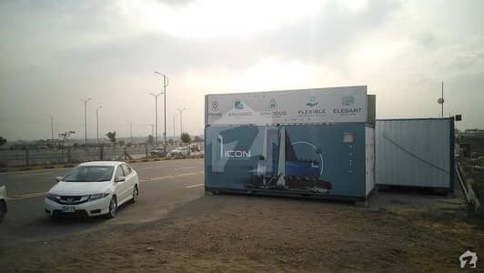 Extra Hieghted Shop Available On Investor Rate At J7icon Mumtaz City