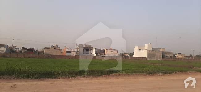 10 Marla Residential Plot For Sale On Easy Installments In Garden City Garden City, Canal Road, Muridke, Punjab